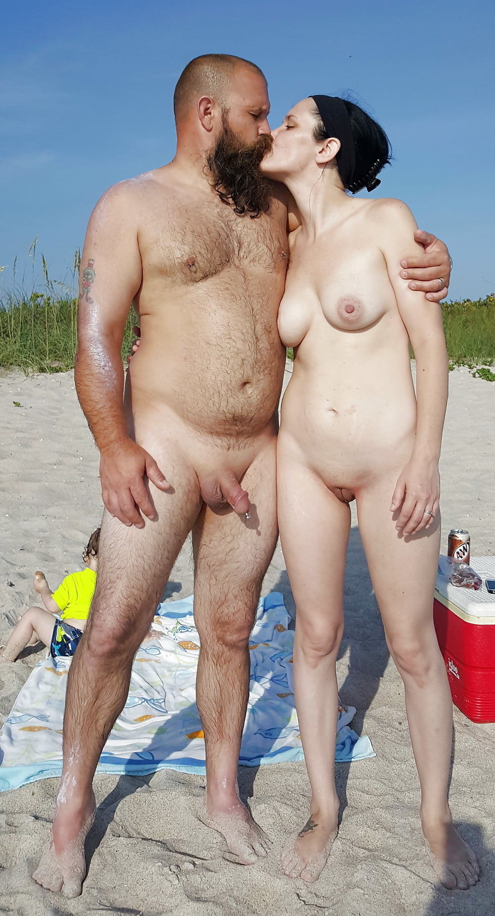 Chunky nude couples #12
