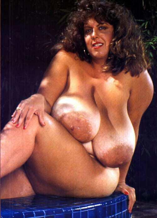 Retro vintage big boobs