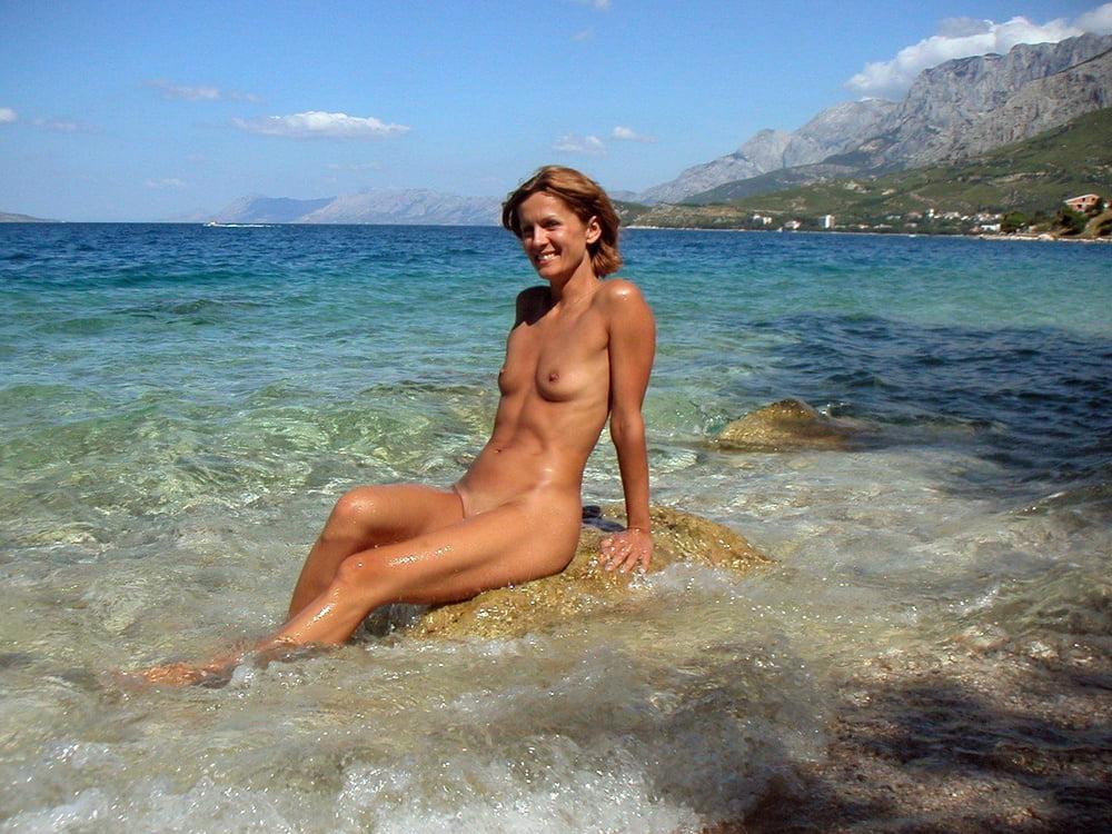 любительское эротическое видео с пляжа