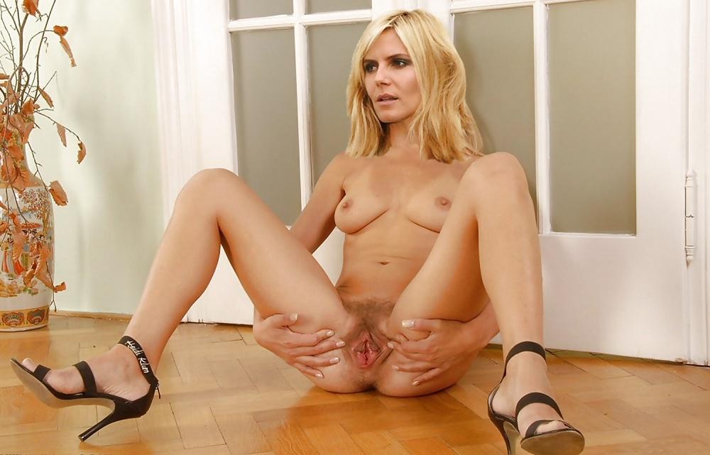 Sex heidi klum nude naked pussy