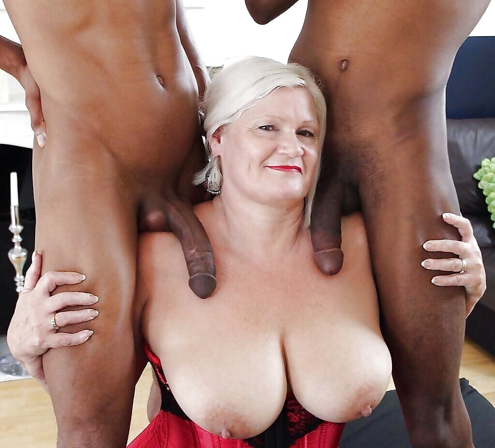 Old Black Man White Woman Fucking