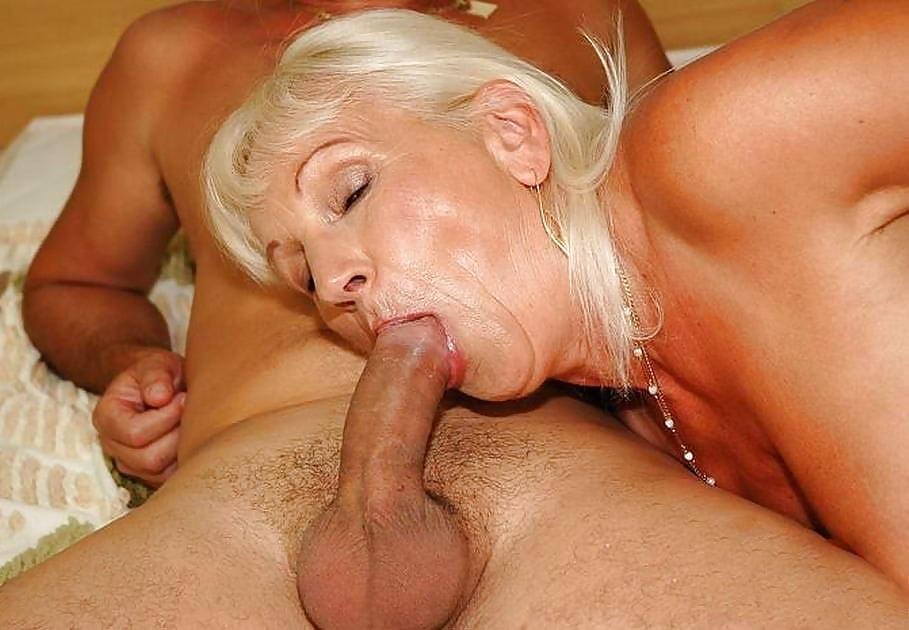 Grannies sucking dicks