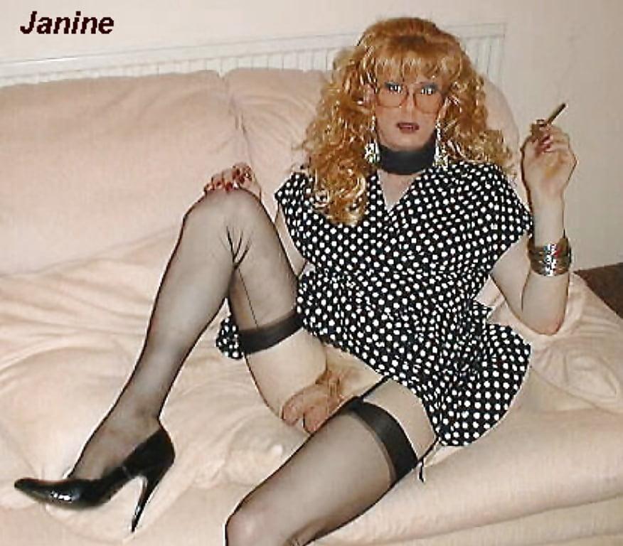 uk transvestite Janine