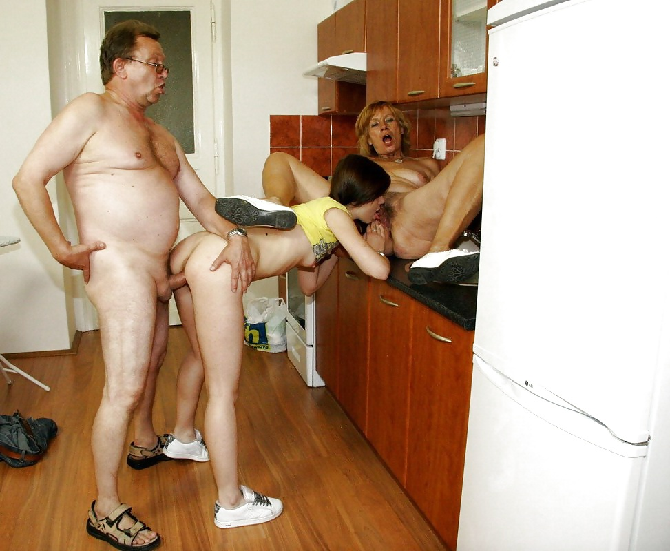 Mature couples fucking young girls #7