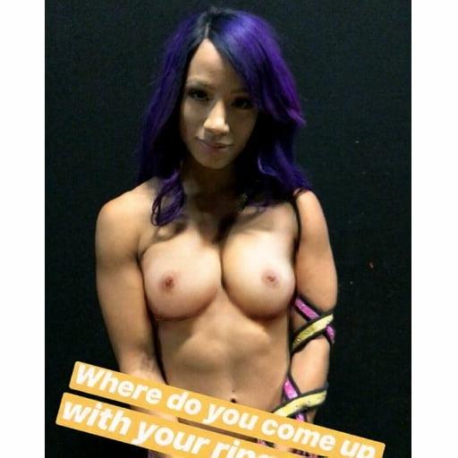 Sasha Banks Porno