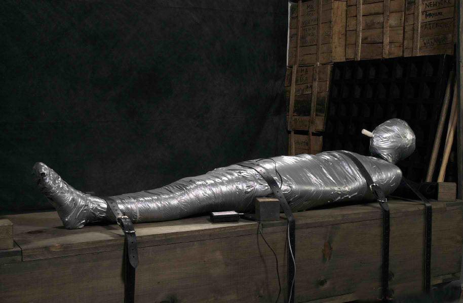 Rope mummification femdom resource