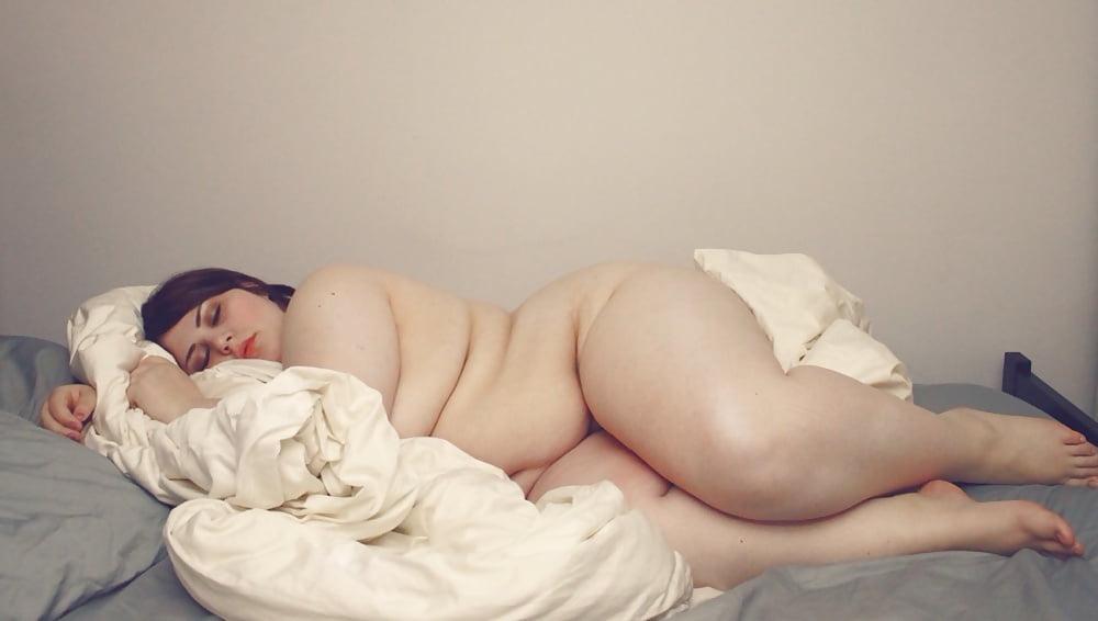 My Chubby Wife Sleeping Naked Domination Porn Pics