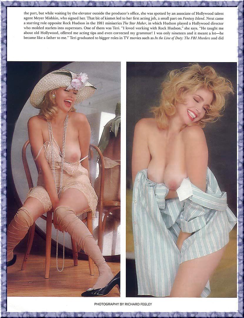 Teri copley breasts, butt scene in down the drain
