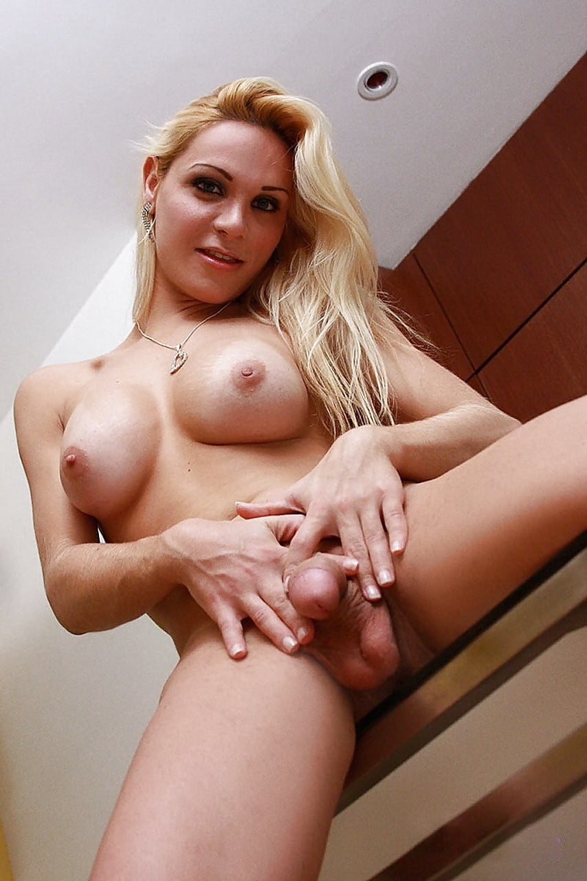 Hot thin blond shemales
