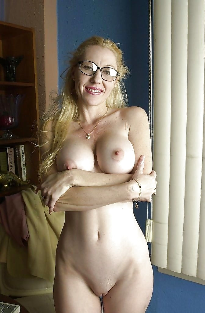 Glasses nude naked wife — photo 4