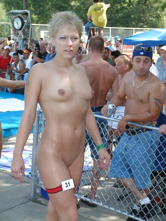 Miss nude wheelchair