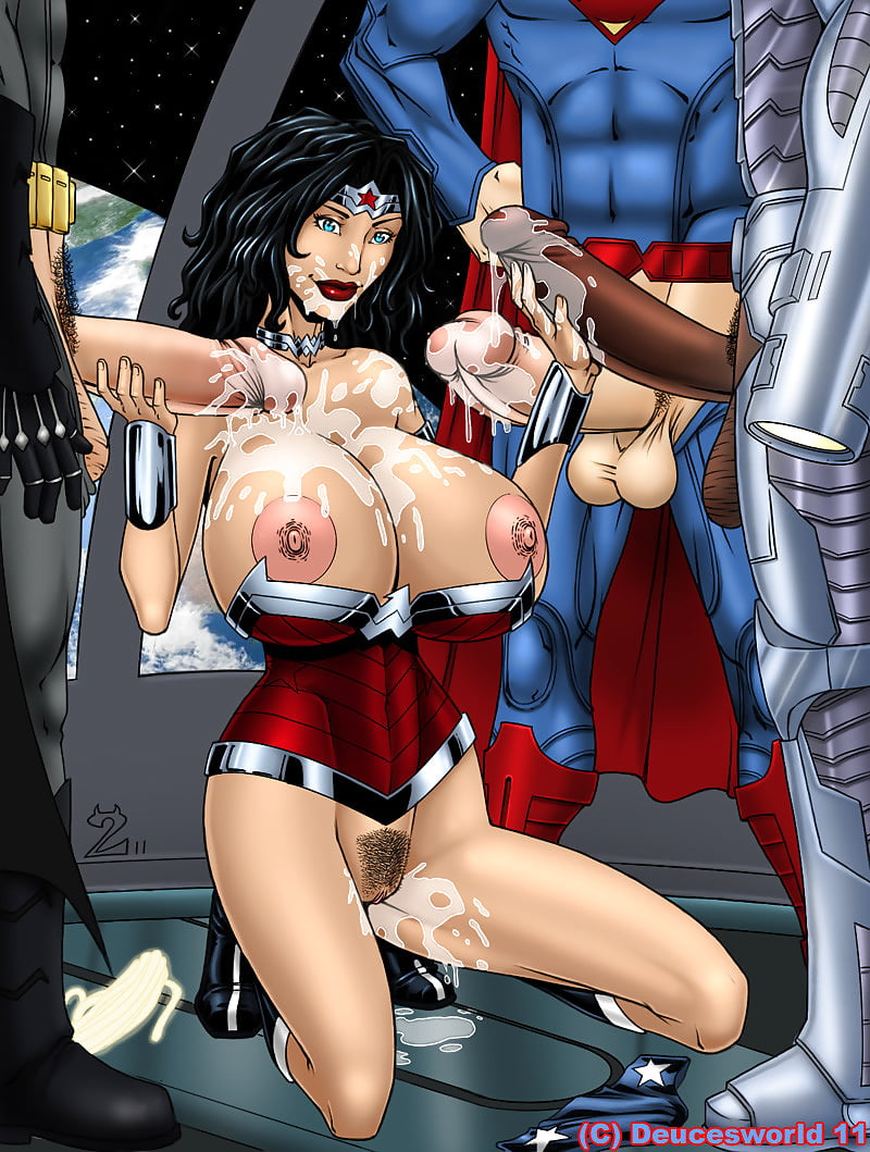 Wonder Woman Strapon Porn