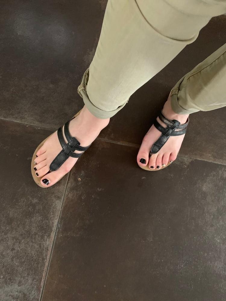 Feet french girl