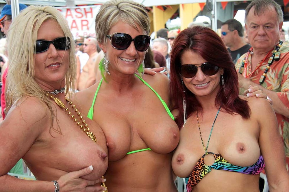 Public Nudity And Flashing During Fantasy Fest Key West Florida