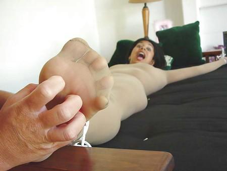Nylon Tickling