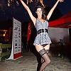 German Erotic Model Micaela black Stockings and Heels