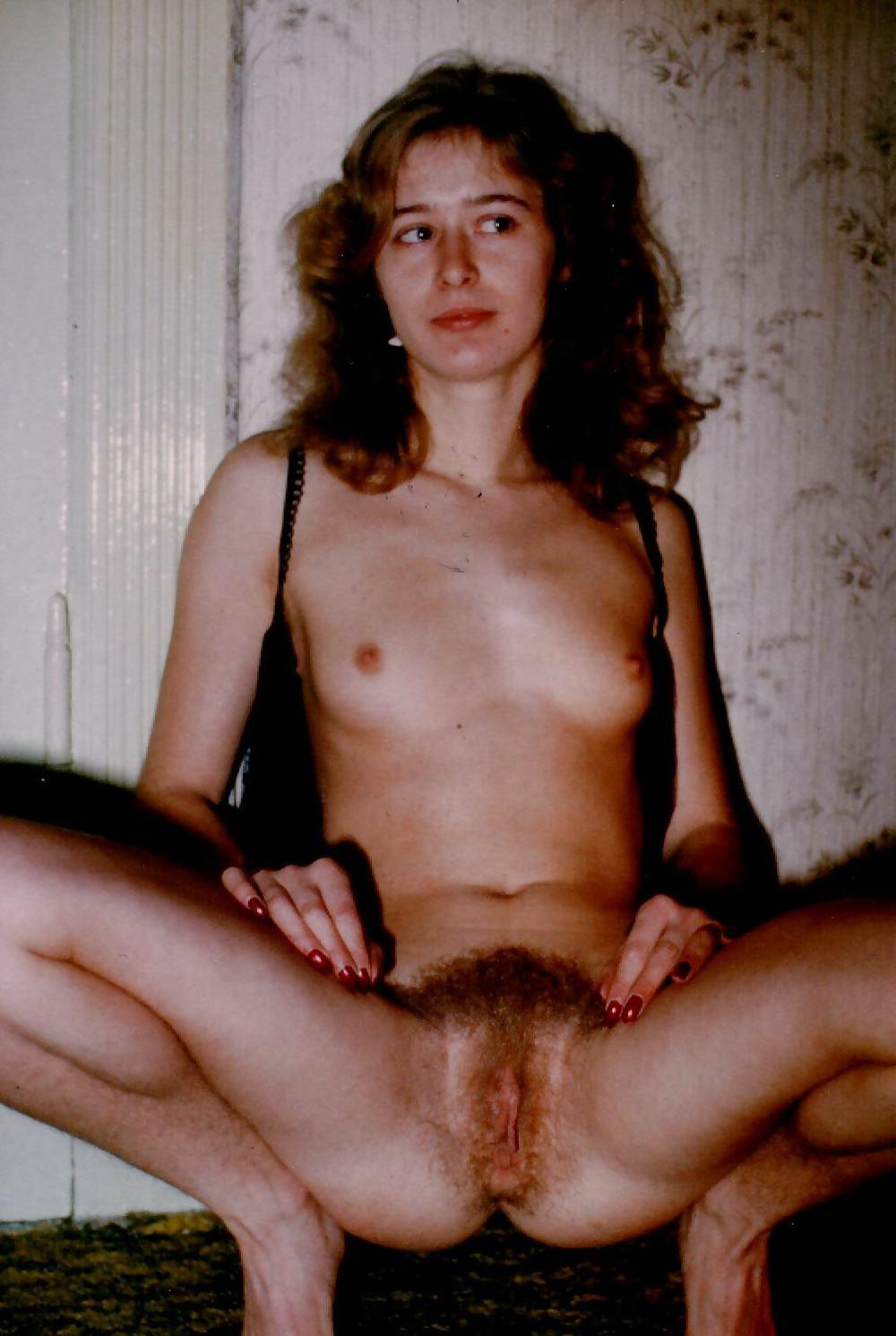 Vintage Erotica Petite Girl, Hairy Pussy, Retro Doggystyle
