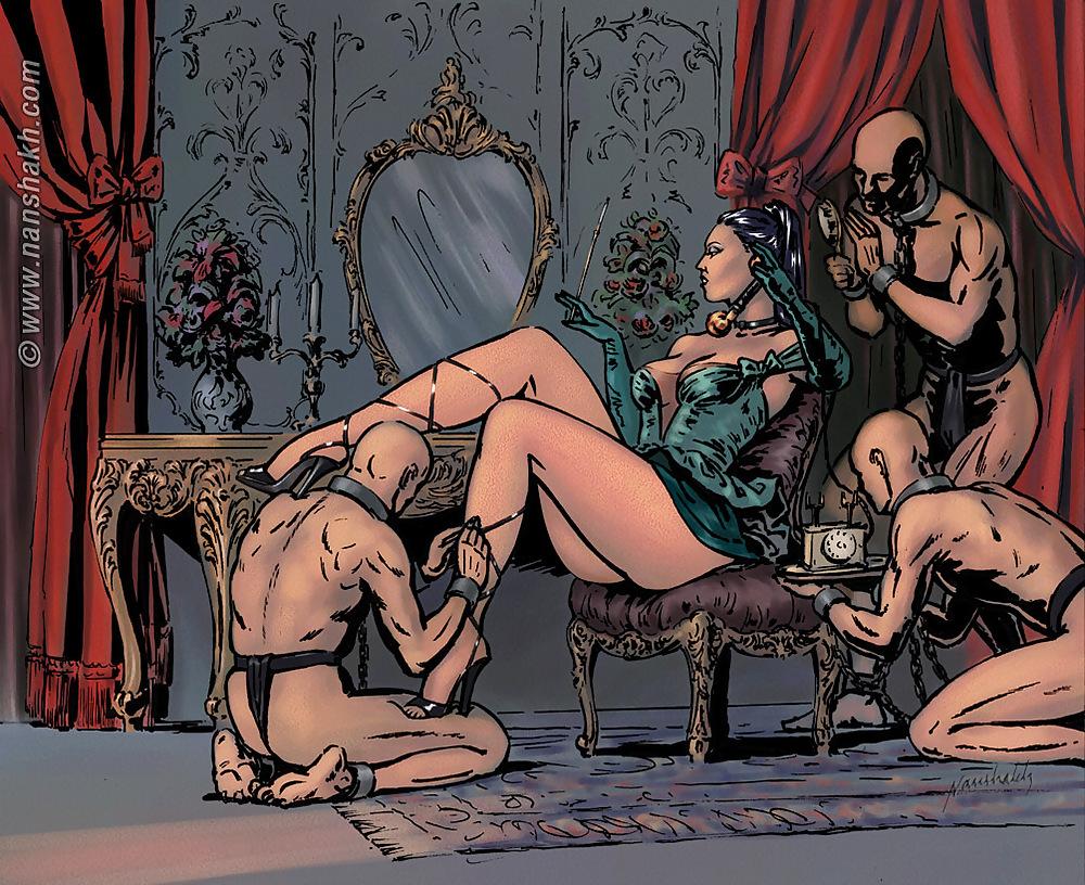 место королева и ее рабы порно откровенные фантазии