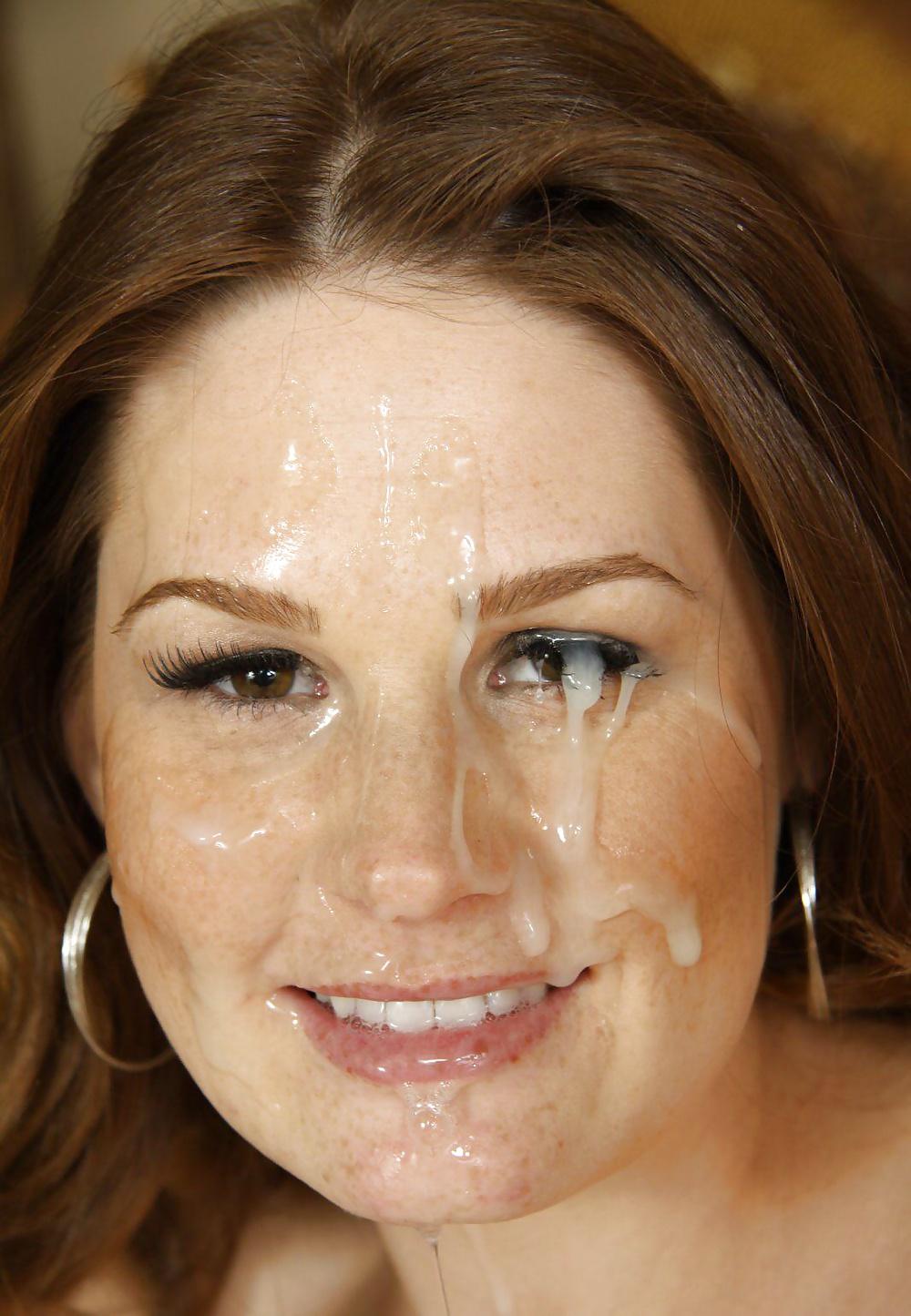 Tiffany Mynx Milf Facial Overload