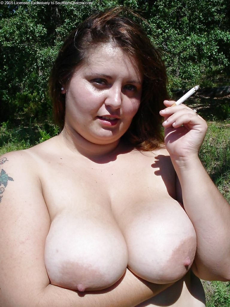Bbw smoking fetish porn