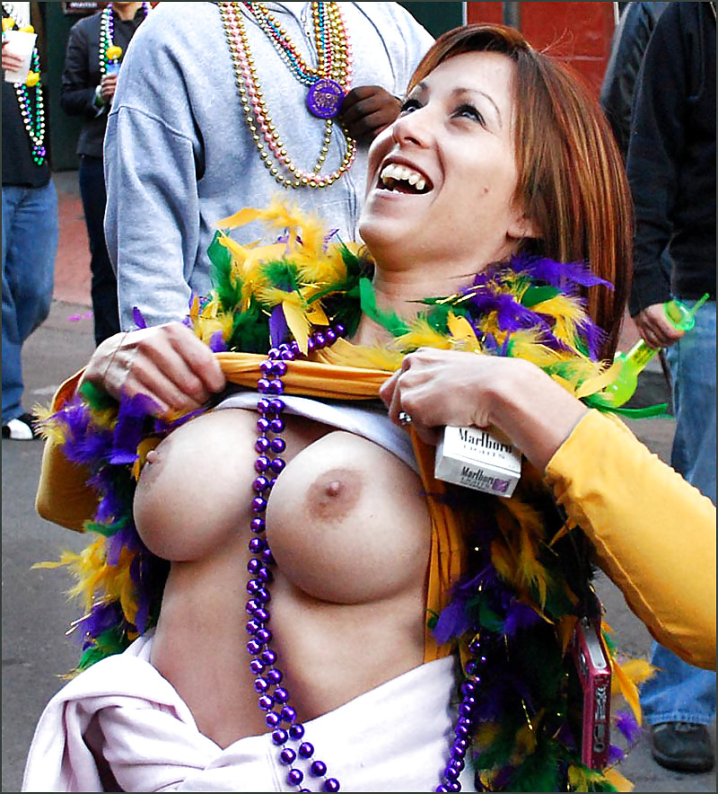 Mardi gras tits pictures 10