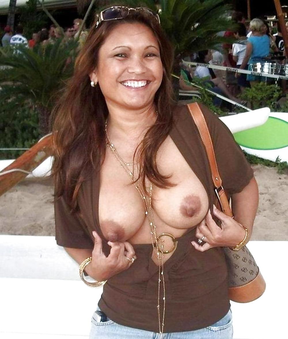 Mexican milf boobs