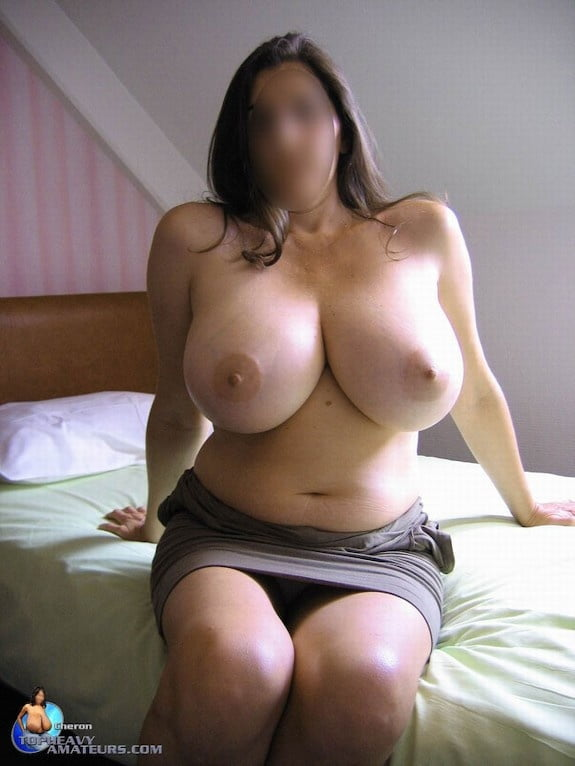 Skinny girl with huge natural tits-7953