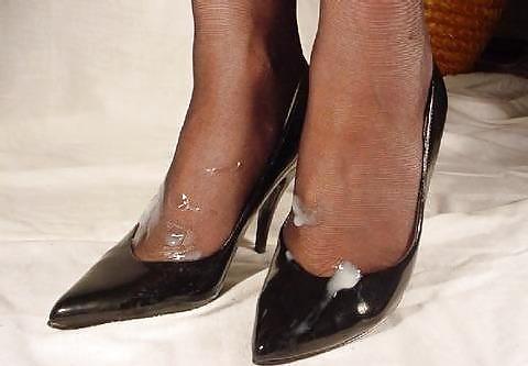 Cum on shoes videos #14