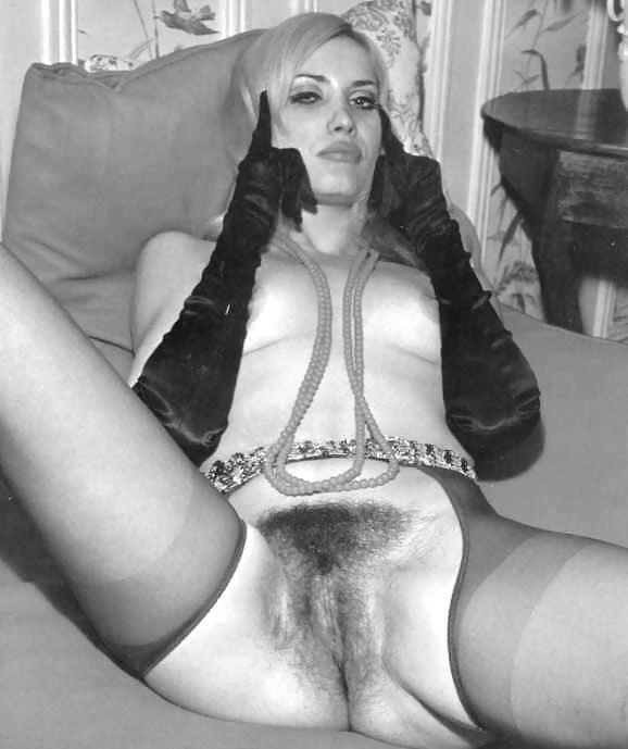 Retro lesbian nylon