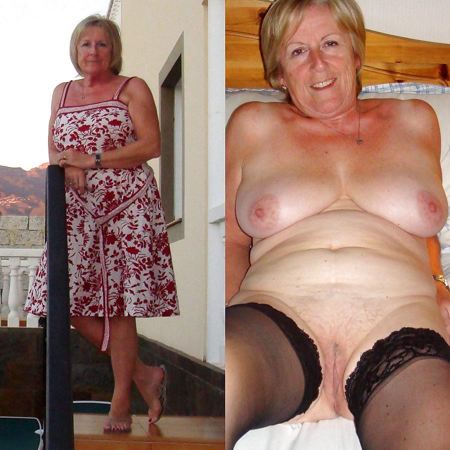 Grannies undressing