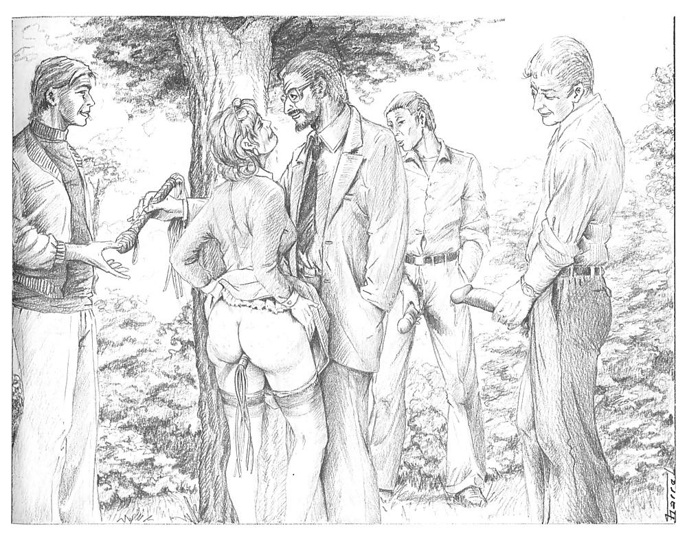 американское рабовладение эротические рисунки карандашом - 12