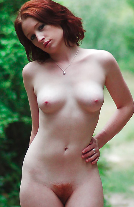 Naked redheads with the bush to match tubeadultsex hairy pussy