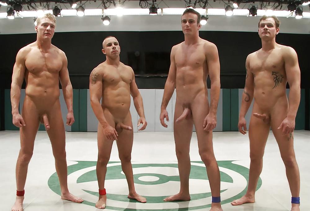 Male sportsmen nude