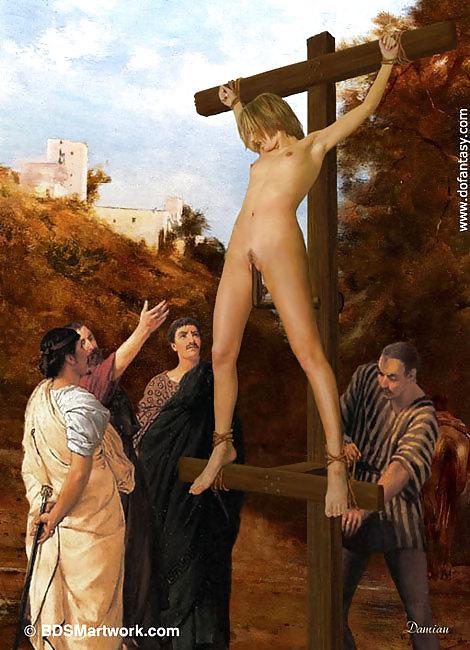 Девушка на кресте рассказ