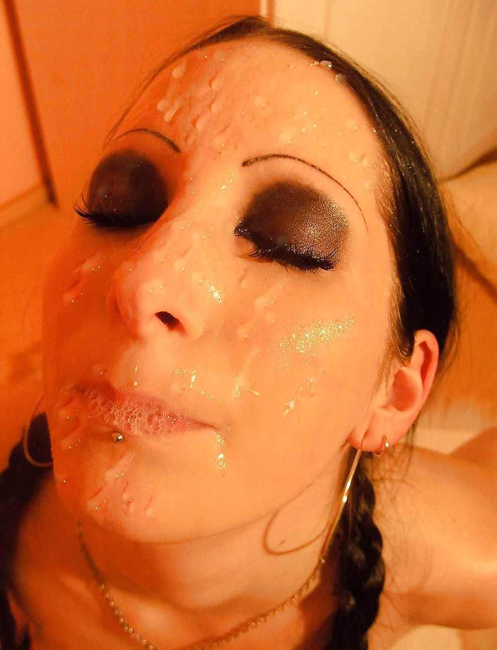 Cum covered sluts — photo 2