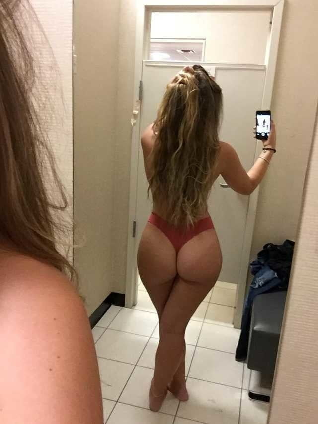 Naked ass selfies female