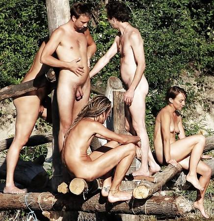 playful naturist girl eroticism