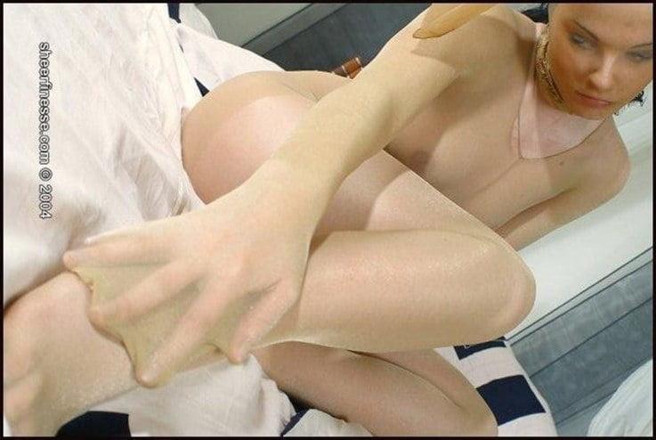 Pantyhose encasement porn-9096