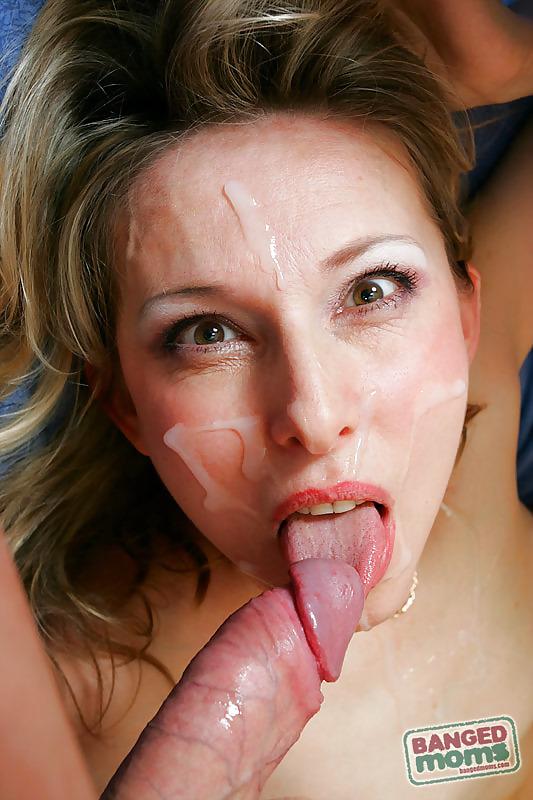 Брызги спермы на лице у зрелых женщин фото — pic 14