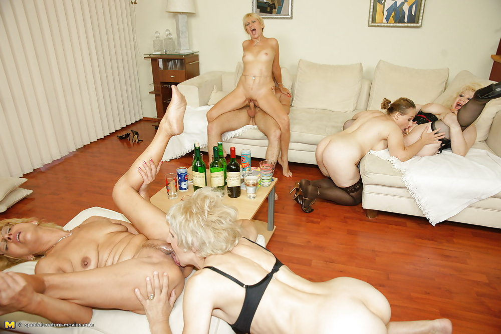 Old woman orgy images — pic 12