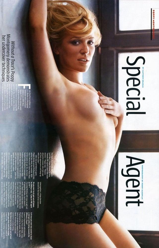 Poppy montgomery nude, naked