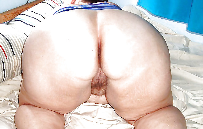 behind Open pussy from