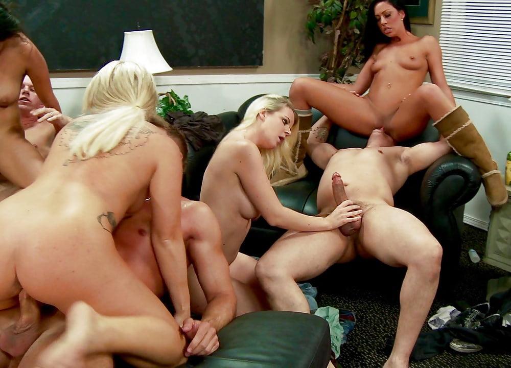 Bedroom Orgy