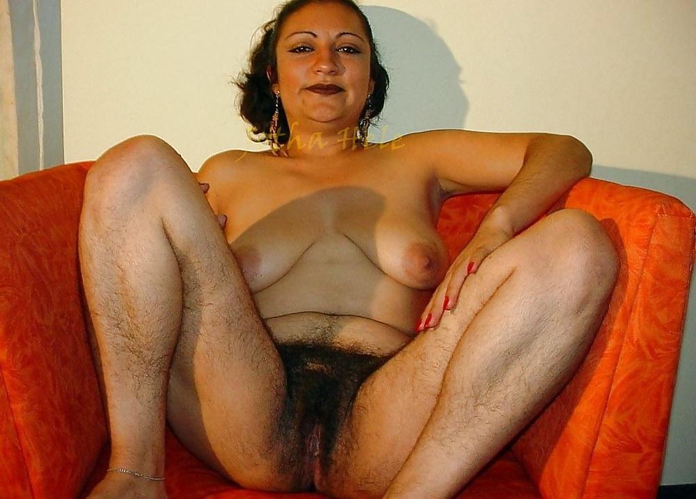 Asian hairy granny