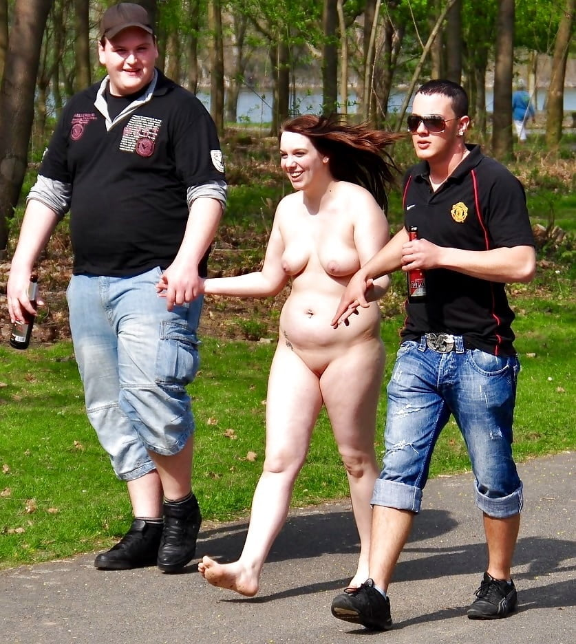 Women with clothed men nude public cfnm