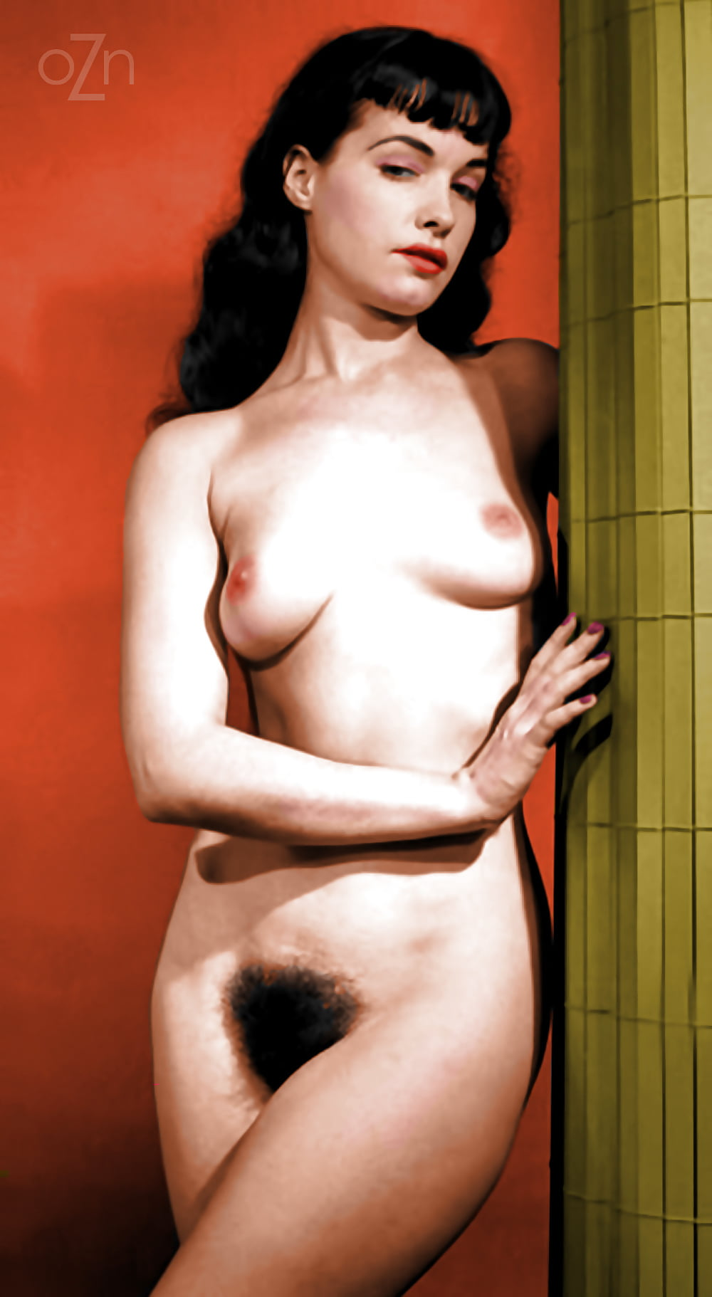 Fucking betty page nude photo butt naked