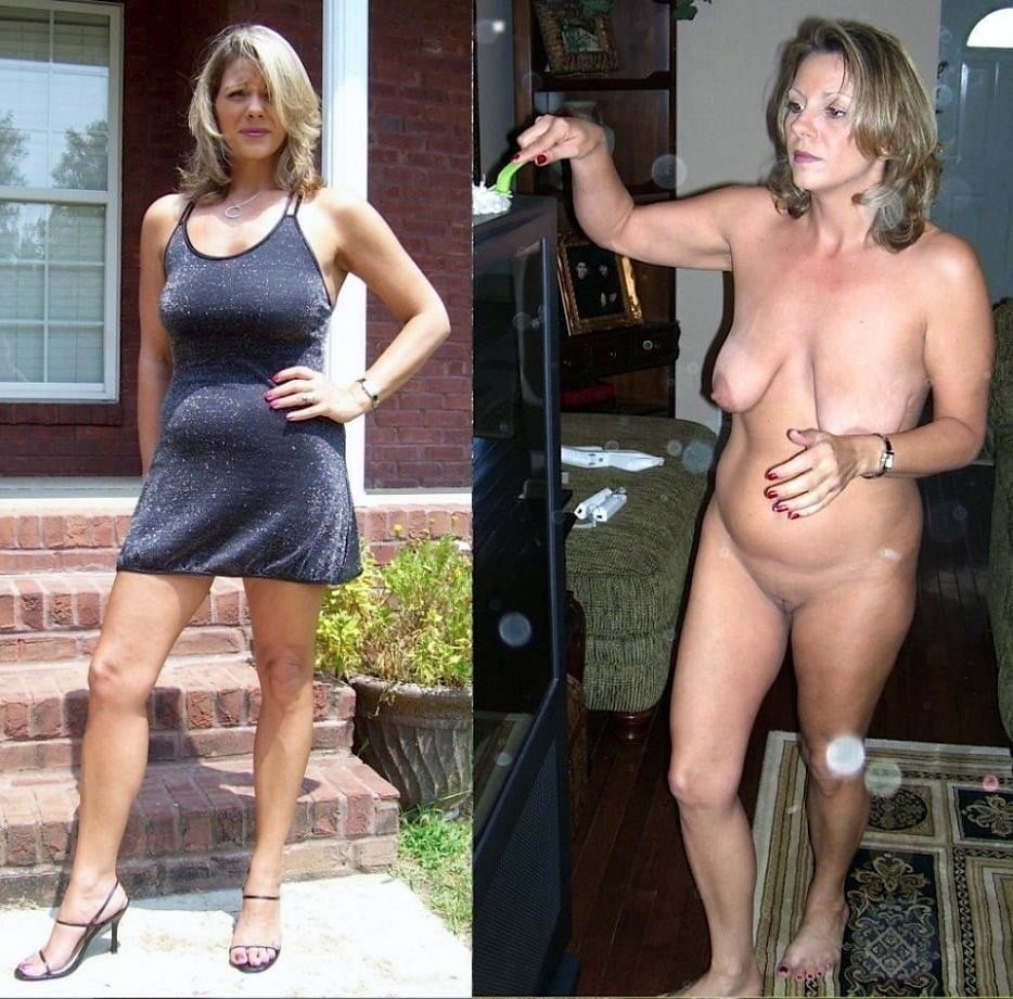 Free Mom Dressed Undressed Photos
