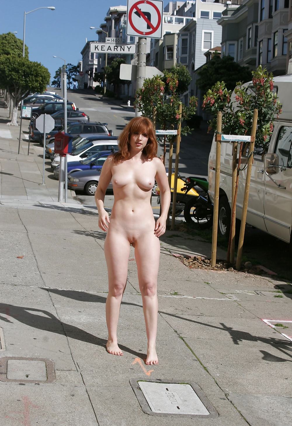Naked ladies in public places-6878