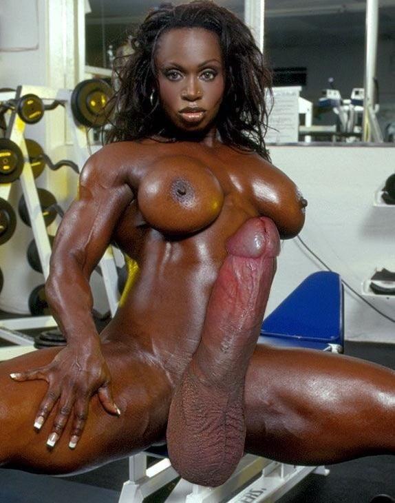 Shemale bodybuilder