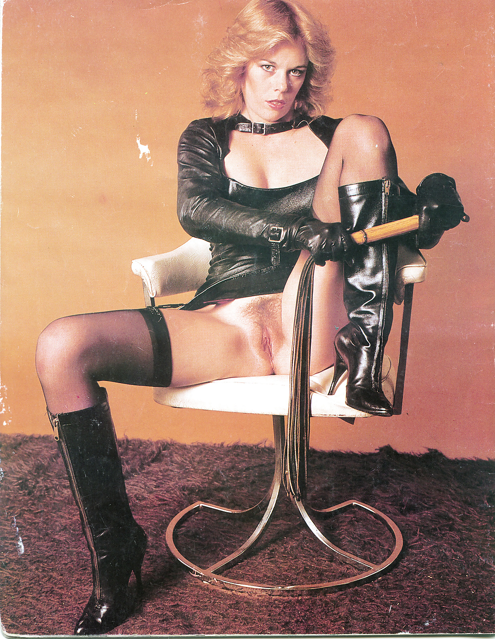 Vintage femdom magazines